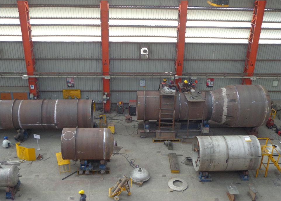 Pressure vessel strip lining repair